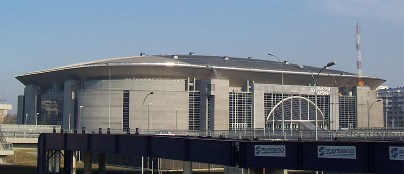 Water polo championship arena